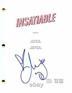 Debby Ryan Signed Autograph Insatiable Full Pilot Script Disney The Suit Life