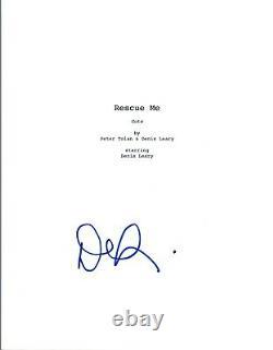 Denis Leary Signed Autographed RESCUE ME Pilot Episode Script COA VD
