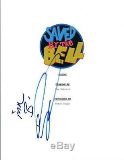 Dennis Haskins Signed Autographed SAVED BY THE BELL Pilot Script Transcript COA