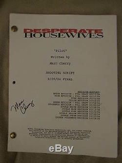 Desperate Housewives Original 2004 Final PILOT Episode TV Series Script, Signed