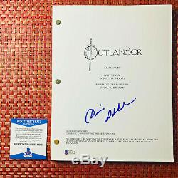 Diana Gabaldon Outlander Signed Full Pilot Sassenach Script Beckett Bas Coa
