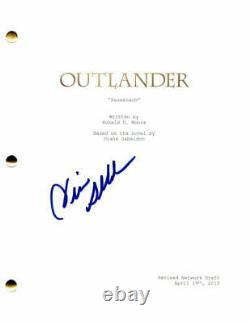 Diana Gabaldon Signed Autograph Outlander Full Pilot Script Sam Heughan