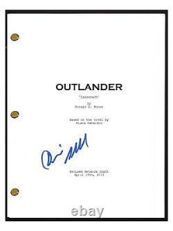 Diana Gabaldon Signed Autographed OUTLANDER Pilot Episode Script Sassenach COA