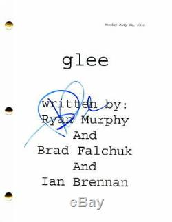 Dianna Agron Signed Autograph Glee Pilot Script Cory Monteith, Lea Michele