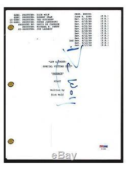 Dick Wolf Signed Autographed LAW & ORDER SVU Pilot Episode Script PSA/DNA COA