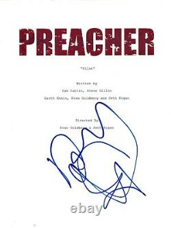 Dominic Cooper Signed Autographed PREACHER Pilot Episode Script COA