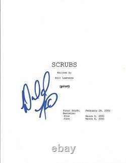 Donald Faison Signed Autographed SCRUBS Pilot Episode Script COA
