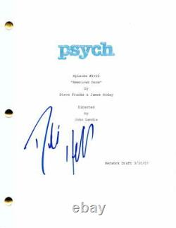 Dule Hill Signed Autograph Psych Full Pilot Script James Roday The West Wing