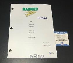 Ed O'neill Signed Auto Full Married With Children Pilot Script Bas Coa 3
