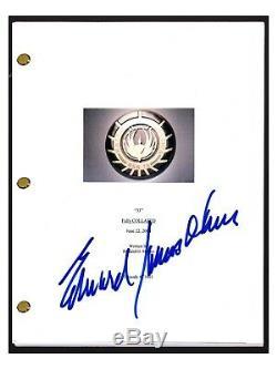 Edward James Olmos Signed Autographed BATTLESTAR GALACTICA Pilot Script COA