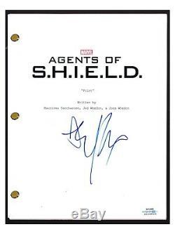 Elizabeth Henstridge Signed Autograph AGENTS OF SHIELD Pilot Episode Script ACOA