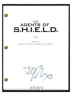 Elizabeth Henstridge Signed Autograph AGENTS OF SHIELD Pilot Episode Script COA