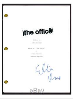 Ellie Kemper Signed Autographed The Office Pilot Episode Script Erin Hanon COA