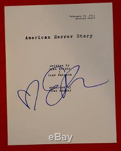 Emma Roberts Signed Autographed American Horror Story Full Pilot Script COA