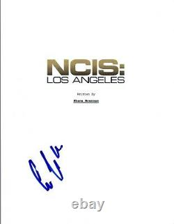 Eric Christian Olson Signed Autographed NCIS LOS ANGELES Pilot Script COA VD