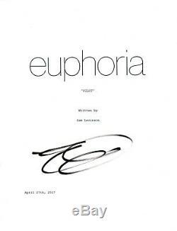 Eric Dane Signed Autographed EUPHORIA Pilot Episode Script COA