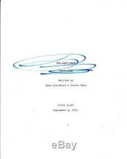 Eric Dane Signed The Last Ship Pilot Episode Full 53 Page Script Autograph USA