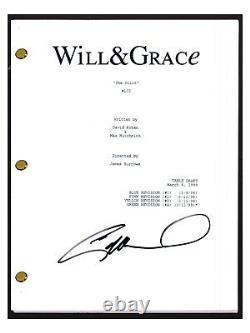 Eric McCormack Signed Autographed WILL & GRACE Pilot Episode Script COA