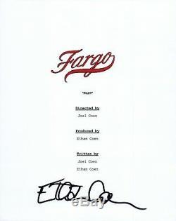 Ethan Coen Signed Autographed FARGO Pilot Episode Script Coen Brothers COA VD