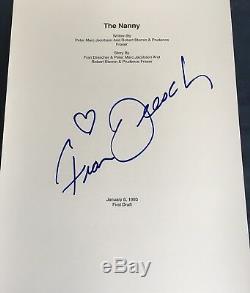 Fran Drescher Signed Autograph Rare The Nanny Full 1993 Pilot Ep Script Coa