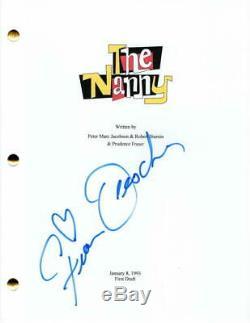 Fran Drescher Signed Autograph The Nanny Full Pilot Script Indebted
