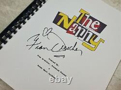 Fran Drescher Signed The Nanny TV Script Pilot Episode Script ACOA