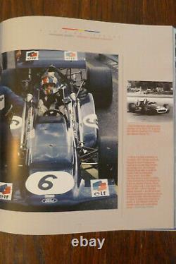 François Cevert, pilote de légende motor sport book RARE SIGNED BOOK