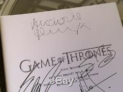 Game Of Thrones Pilot Signed Sean Bean George Rr Martin Lena Headey Full Script