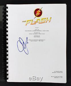 Geoff Johns Authentic Signed The Flash TV Pilot Script Autographed BAS #D05818