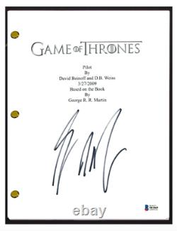 George RR Martin Signed Autographed Game of Thrones Pilot Script Beckett BAS COA