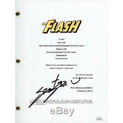 Grant Gustin The Flash Autographed Pilot Episode TV Script JSA Certified