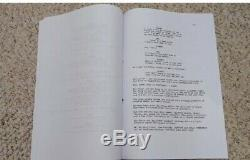 HAND SIGNED by George R. R. Martin, A Game Of Thrones, Pilot Episode TV Script