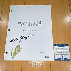 HAUNTING OF HILL HOUSE SIGNED PILOT SCRIPT by KATE SIEGEL MIKE FLANAGAN with COA