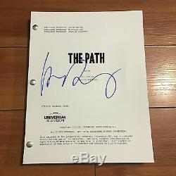 HUGH DANCY SIGNED THE PATH FULL PILOT SCRIPT with EXACT PROOF OF AUTOGRAPH