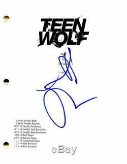 Holland Roden Signed Autograph Teen Wolf Full Pilot Script Tyler Posey