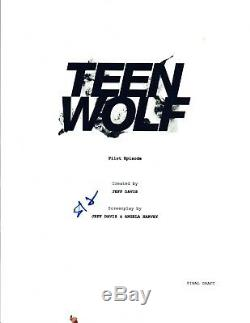 Holland Roden Signed Autographed TEEN WOLF Pilot Episode Script COA VD