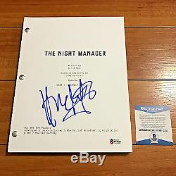Hugh Laurie Signed The Night Manager Full 65 Page Pilot Script Beckett Bas Coa