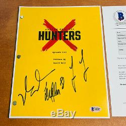 Hunters Signed Pilot Script By 3 Cast Al Pacino Logan Lerman Exact Proof Photos