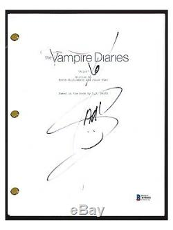 Ian Somerhalder Signed Autographed THE VAMPIRE DIARIES Pilot Script Beckett COA