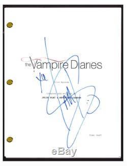 Ian Somerhalder Signed Autographed VAMPIRE DIARIES Pilot Episode Script COA