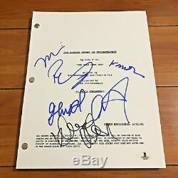 It's Always Sunny In Philadelphia Signed Pilot Script By 6 Cast Beckett Bas Coa