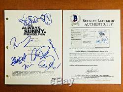 It's Always Sunny In Philadelphia Signed Pilot Script By 7 Cast Beckett Bas Coa