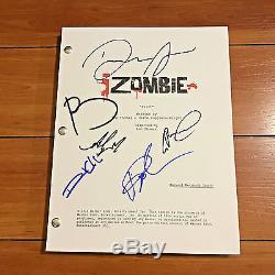 Izombie Signed Full Pilot Script By 6 Cast Members Rose Mciver Aly Michalka