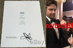 JASON BATEMAN SIGNED AUTOGRAPH OZARK FULL PILOT 68 PAGE SCRIPT withEXACT PROOF