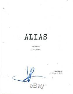 JJ Abrams J. J. Signed Autographed ALIAS Pilot Episode Script COA