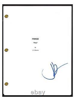 JJ Abrams Signed Autographed FRINGE Pilot Episode Script COA