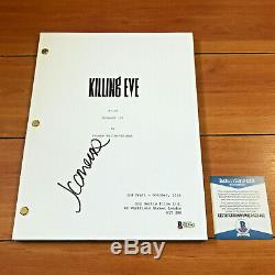 JODIE COMER SIGNED KILLING EVE FULL 58 PAGE PILOT SCRIPT with BECKETT BAS COA
