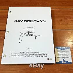 JON VOIGHT SIGNED RAY DONOVAN FULL 64 PILOT SCRIPT EPISODE with BECKETT BAS COA
