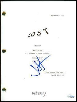 J. J. Abrams Lost AUTOGRAPH Signed Full Complete Pilot Episode TV Script ACOA