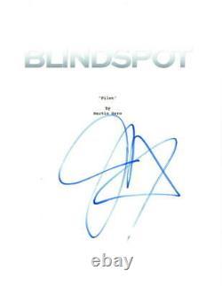 Jaimie Alexander Signed Blindspot Pilot Episode Script Authentic Autograph Coa